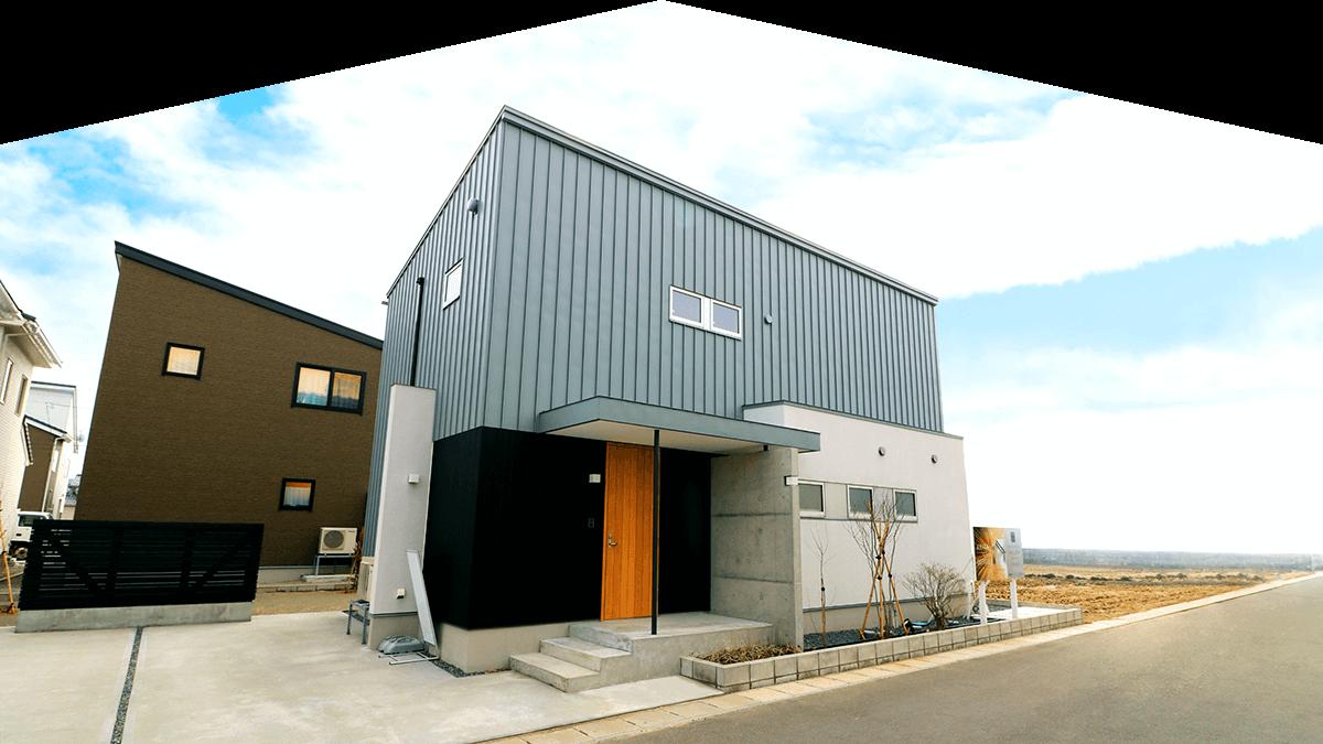 AKITA×DESIGN STANDARD300 由利本荘 モデルハウス 外観