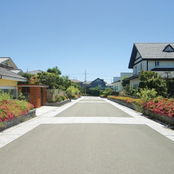 秋田県秋田市御所野│四季の丘 電柱のない、開放的なニュータウン