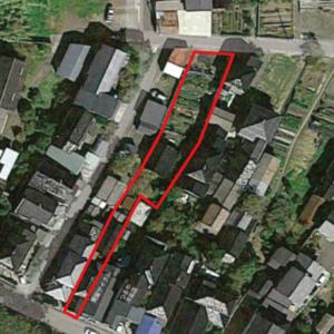 秋田県にかほ市象潟町字二丁目塩越‗住宅用地‗航空写真