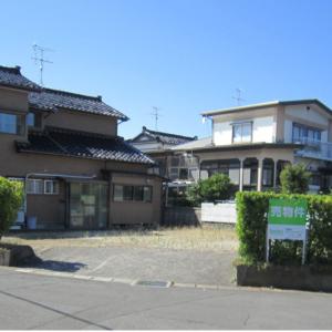 秋田県にかほ市平沢字家ノ後 土地 宅地 現地外観写真