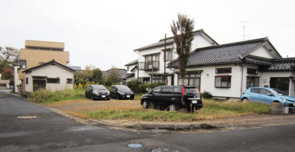 秋田県にかほ市平沢字中町 土地 宅地 No.N1018 現地外観写真