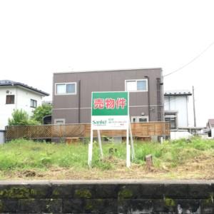 【秋田県・秋田市泉釜ノ町】土地 宅地|現地写真