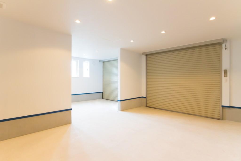 秋田市|楢山|モデルハウス|ビルトインガレージ