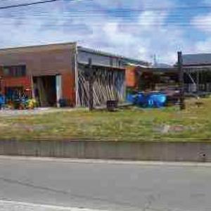 【秋田県・由利本荘市薬師堂】中古倉庫|現地写真