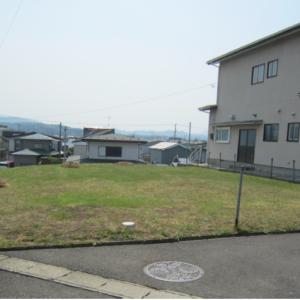 秋田県由利本荘市西小人町 土地 宅地 現地外観写真