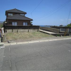 秋田県にかほ市平沢字長磯 土地 宅地 現地外観写真