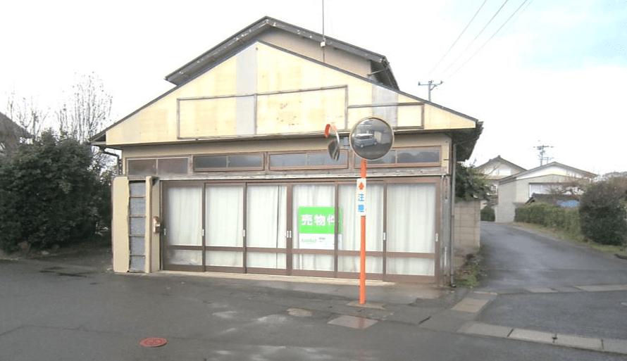 秋田県にかほ市象潟町字二ノ丸 土地 宅地 現地外観写真
