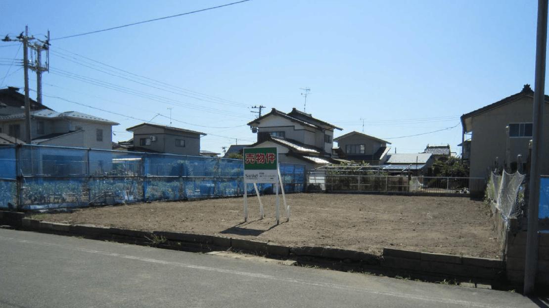 秋田県にかほ市平沢字前谷地 土地 宅地 No.N1025 現地外観写真