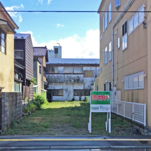 【秋田県・秋田市中通】土地 宅地|現地写真