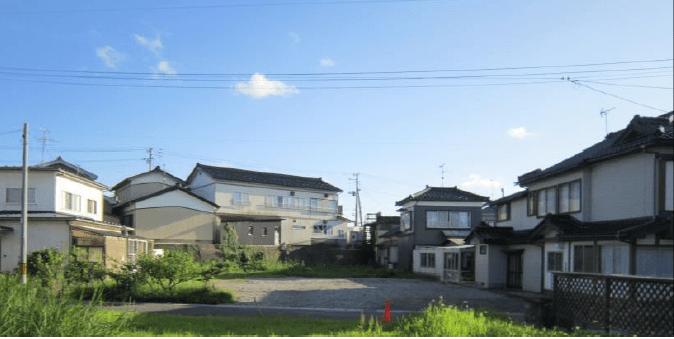 秋田県にかほ市平沢字新町 土地 宅地