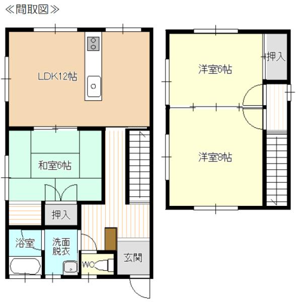 秋田県にかほ市平沢字前田79-3 賃貸 貸家 一戸建て 3LDK