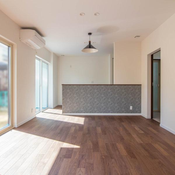【秋田県・由利本荘市御門】2(3)LDK 新築戸建て・分譲住宅|リビング