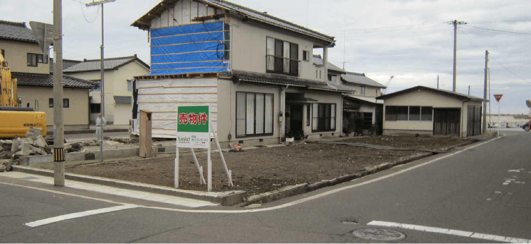 秋田県にかほ市平沢字上町 土地 宅地|N1036