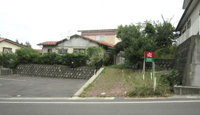 秋田県由利本荘市新組町 土地 宅地 H1005 現地外観写真