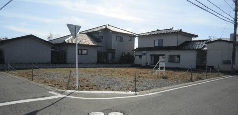 秋田県由利本荘市一番堰 土地 分譲地 現地外観写真