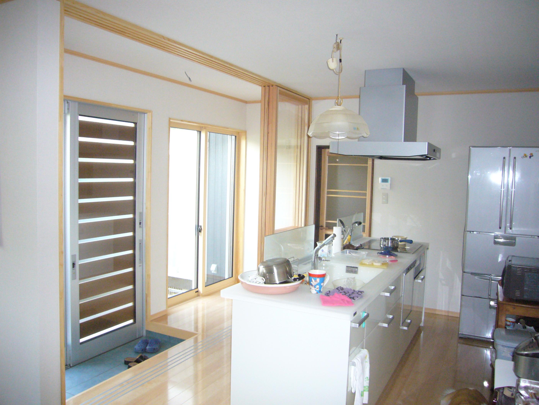 M01 キッチン 対面キッチン にかほ市