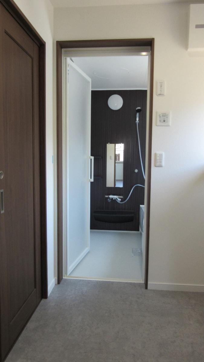 秋田県にかほ市象潟町字武道島 3LDK 新築戸建て 分譲住宅 バスルーム
