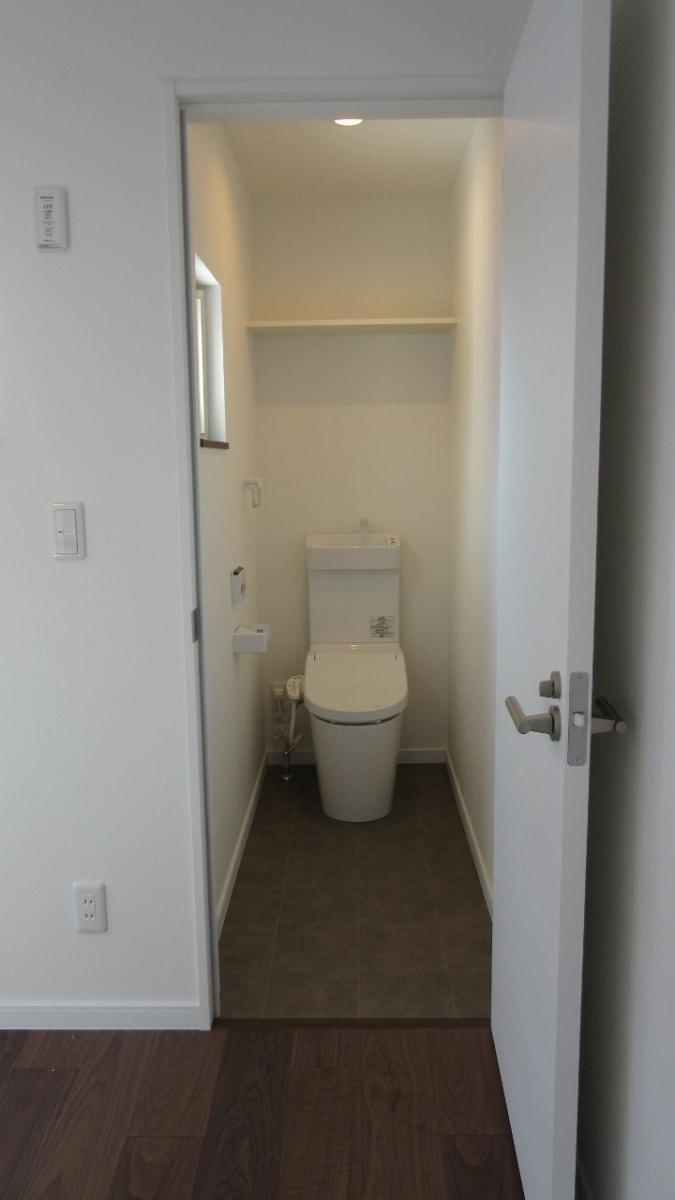秋田県にかほ市象潟町字武道島 3LDK 新築戸建て 分譲住宅 トイレ