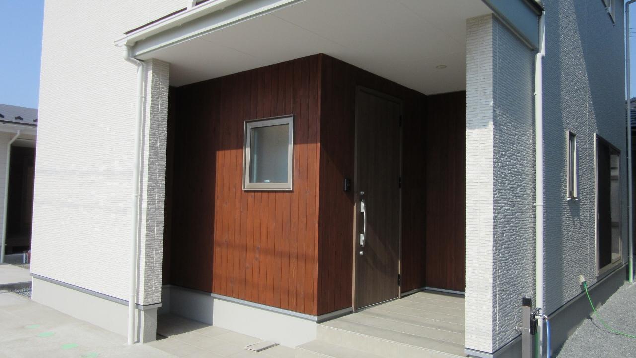 秋田県にかほ市象潟町字武道島 3LDK 新築戸建て 分譲住宅 玄関