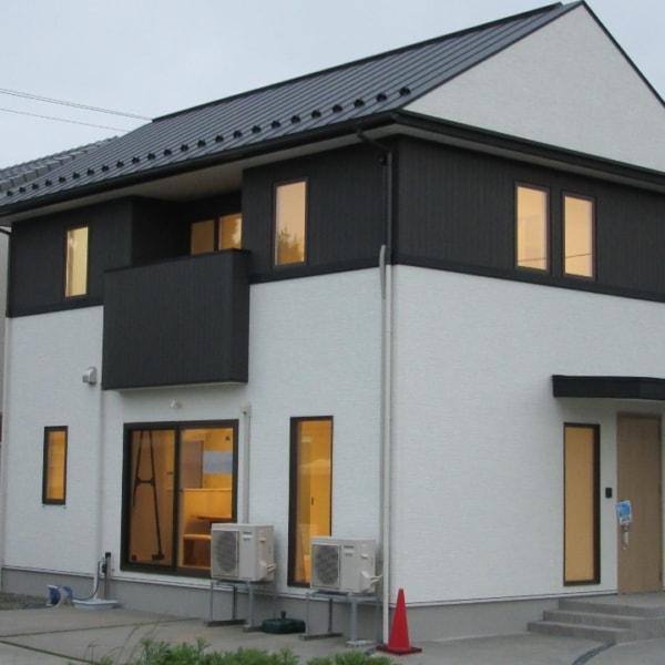 秋田県由利本荘市石脇字田尻野 3LDK 新築戸建て 分譲住宅 外観写真
