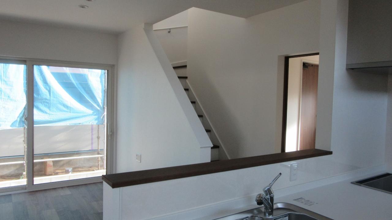 秋田県にかほ市象潟町字武道島 3LDK 新築戸建て 分譲住宅 リビング階段