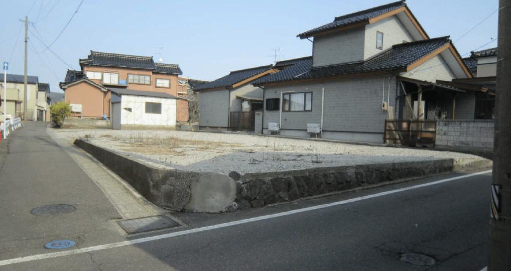 【秋田県・にかほ市平沢字新町】土地 宅地|No.N1036 外観写真