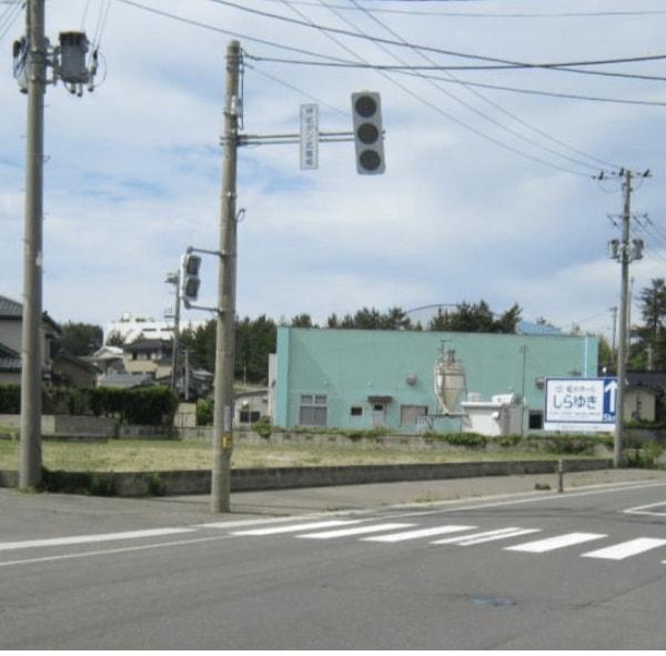 秋田県にかほ市金浦字頃田 土地 宅地 No.N1041 現地外観写真