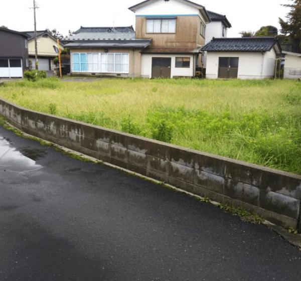 秋田県にかほ市平沢字前谷地 土地 宅地 No.N1039 現地外観写真