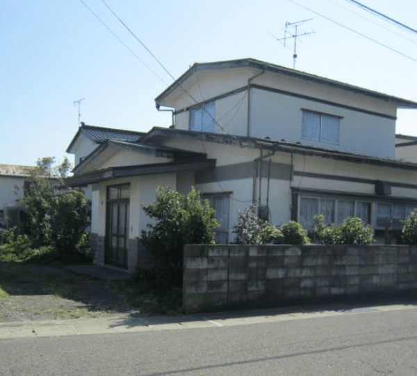 秋田県にかほ市平沢字天ヶ町 土地 宅地 N1043 現地外観写真