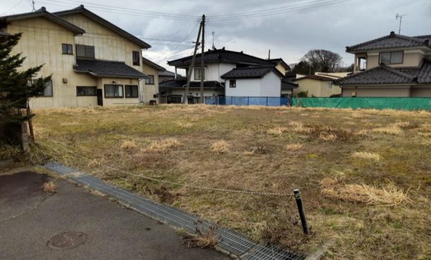 秋田県にかほ市平沢字鳥森 土地 宅地 No.1055 現地外観写真