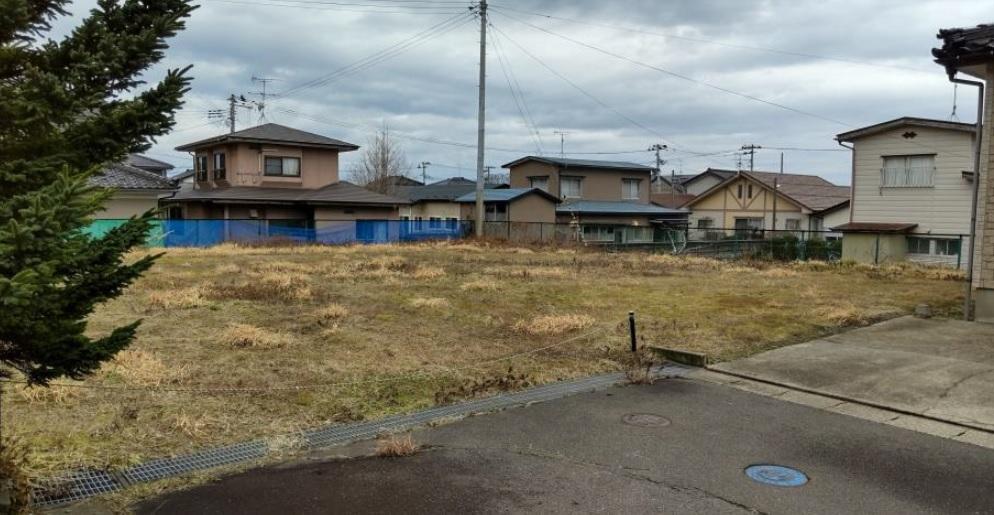 秋田県にかほ市平沢字鳥森 土地 宅地 No.1056 現地外観写真
